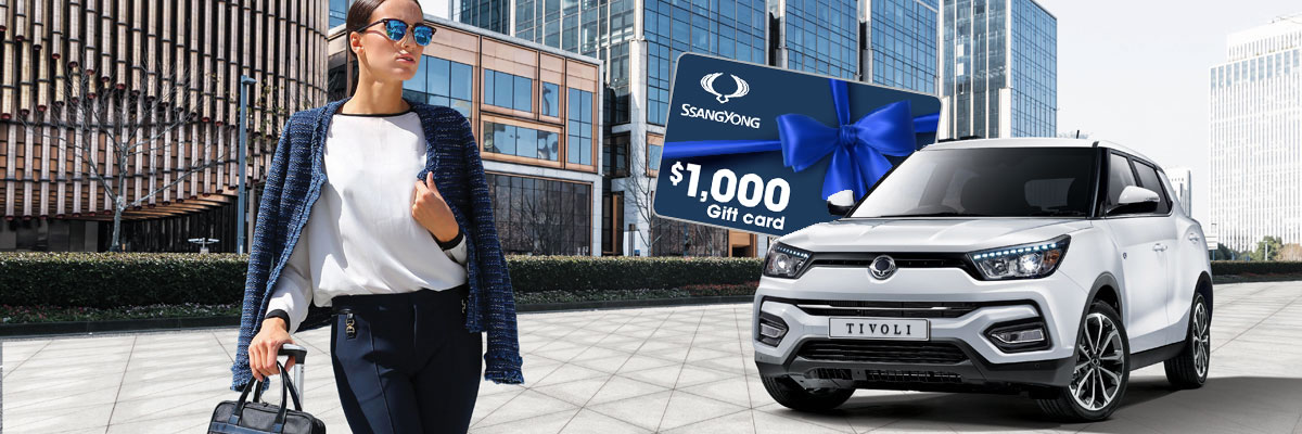 SsangYong Tivoli Special Offer