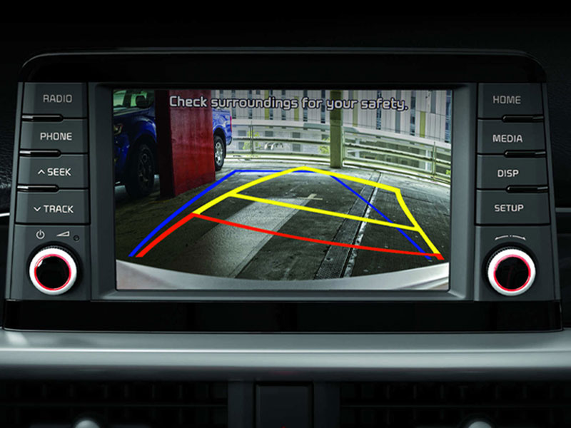 picanto safety rear camera