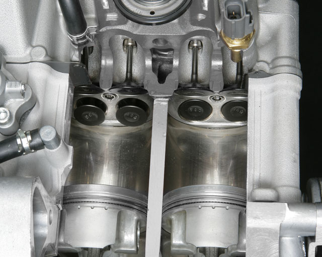530cc Incline Twin Cylinder
