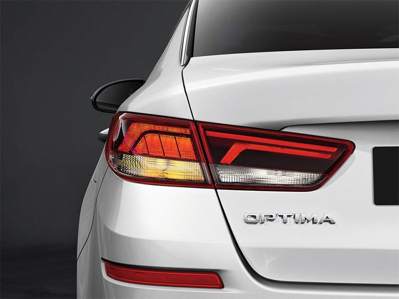 Optima tail lights