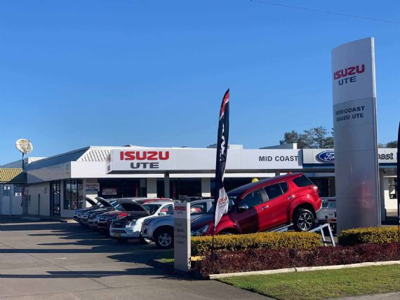 Midcoast Isuzu UTE Dealership