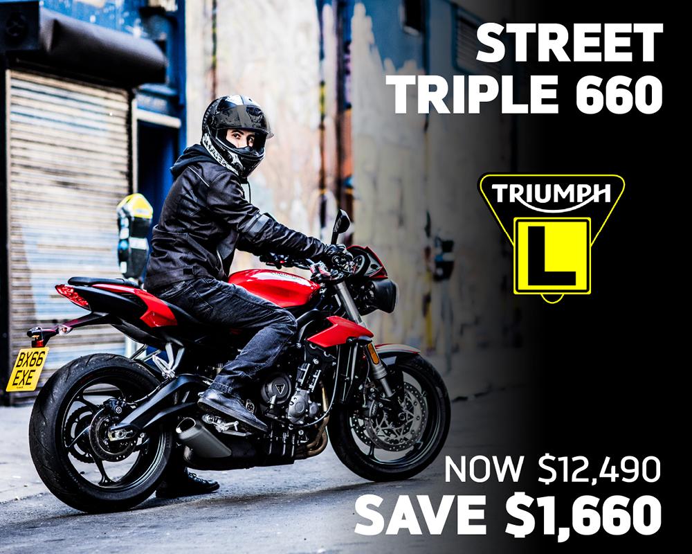 Street Triple 660 LAMS