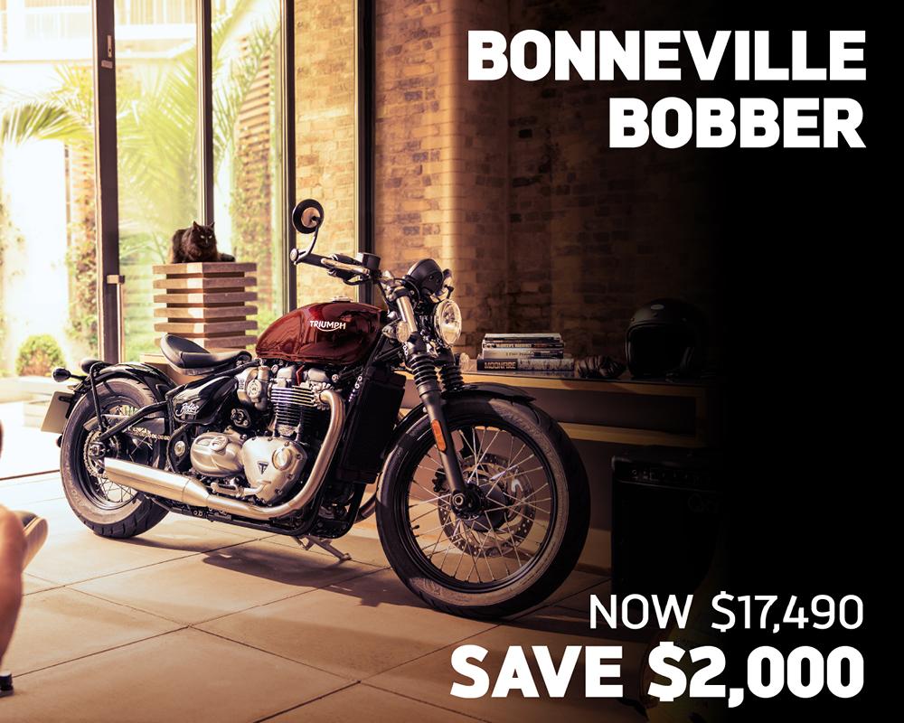 Bonneville Bobber