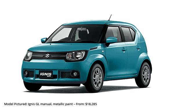 Suzuki Ignis Manual