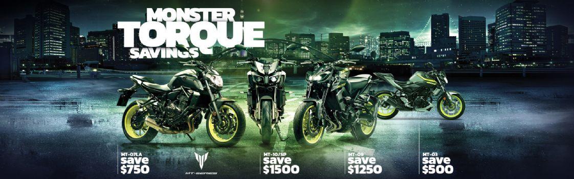 Yamaha MONSTER TORQUE SALE