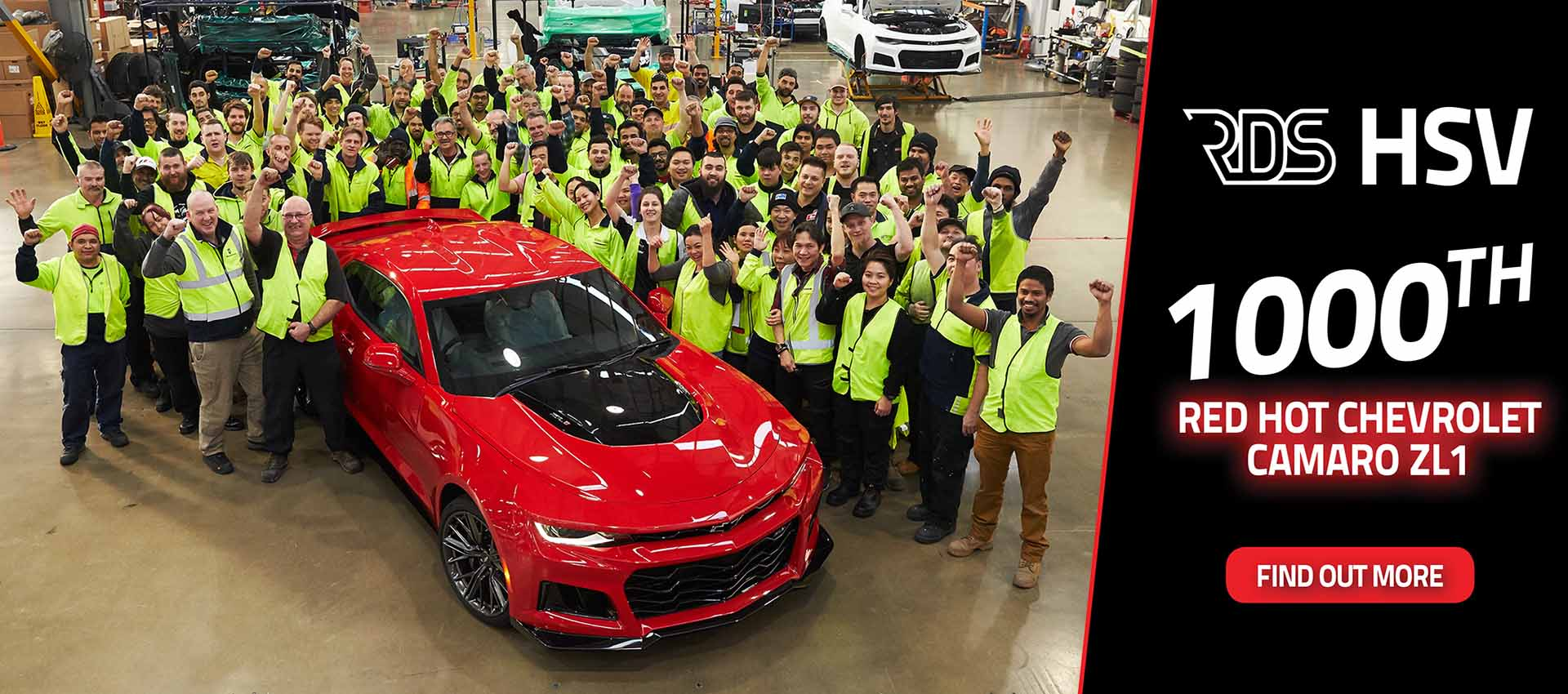 1,000th Chevrolet Camaro Celebration
