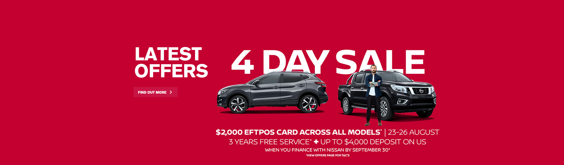 Nissan 4 Day Sale