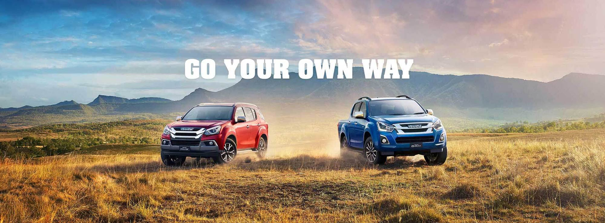 Isuzu Ute Go Your Own Way