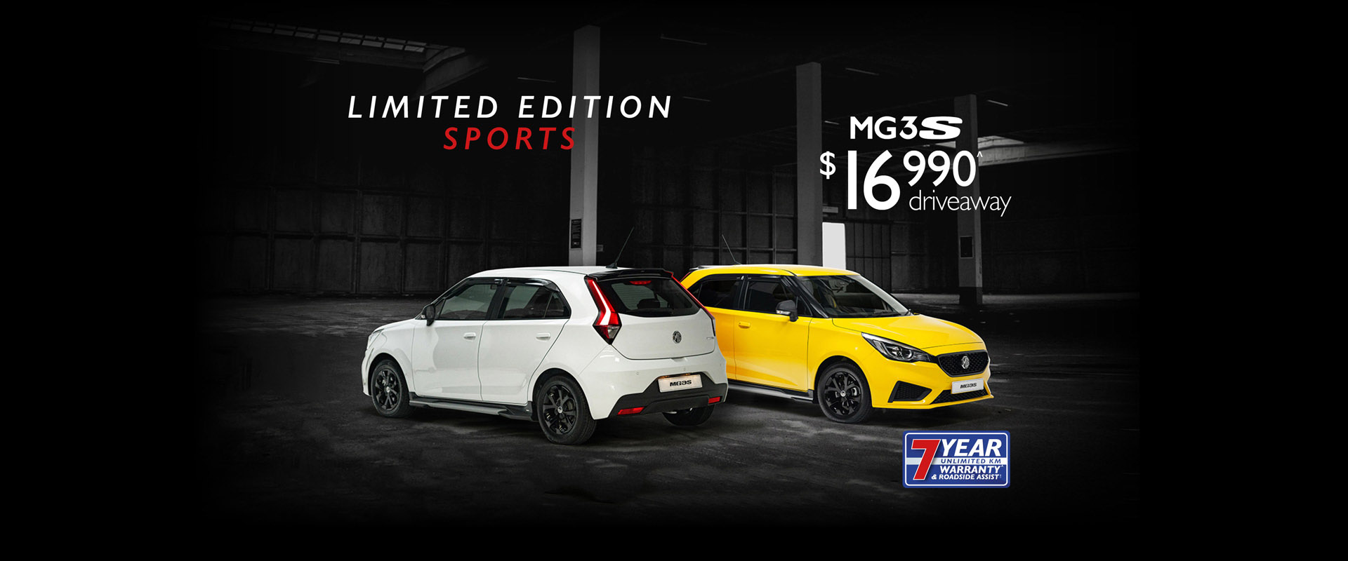 MG3 Sports Limited Edition