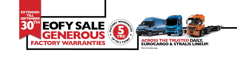 Iveco EOFY Sale 2019
