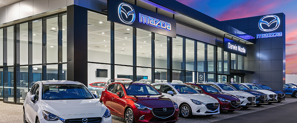 Mazda Berrimah Showroom