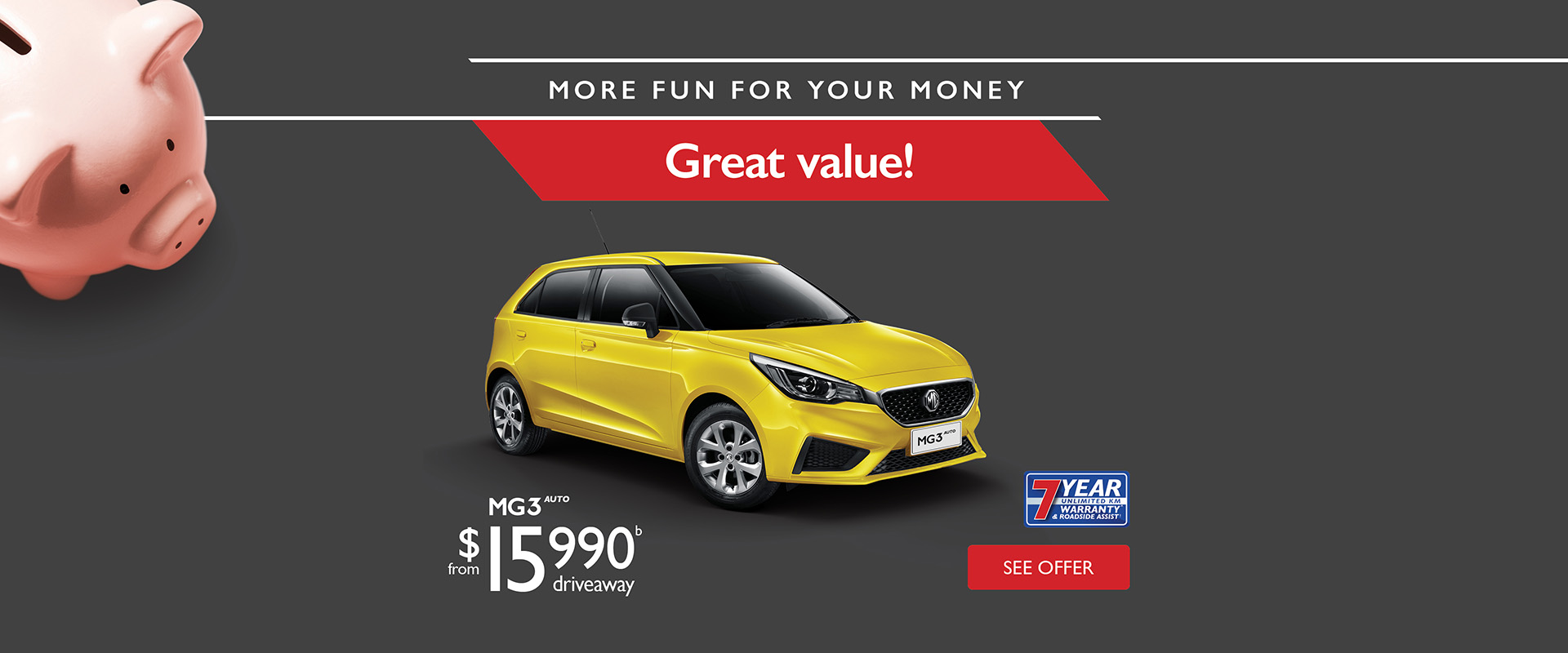 MG3 - More Fun For Your Money