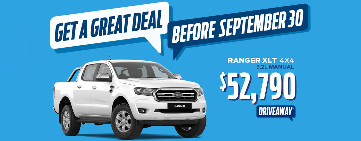 Get a Great Deal Before September 30