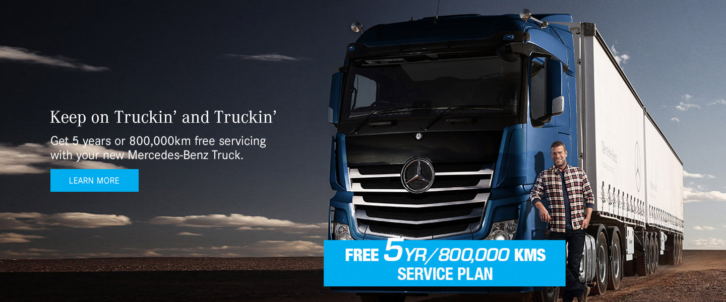 Mercedes-Benz Trucks - Keep On Trucking