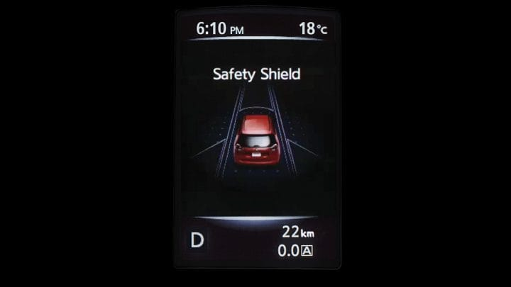 X-trail_SAFETY SHIELD