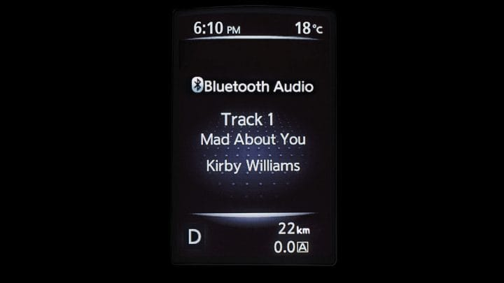 X-trail_BLUETOOTH AUDIO STREAMING