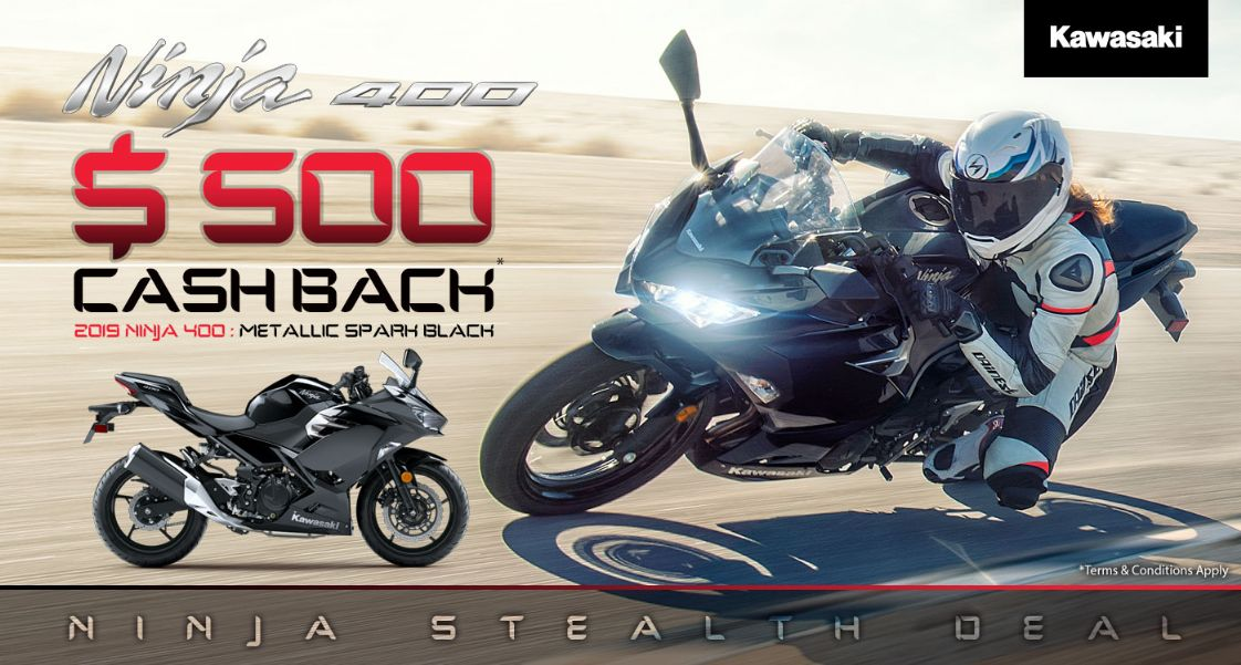 Kawasaki - Ninja 400 Stealth