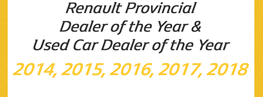 Renault Dealer Awards