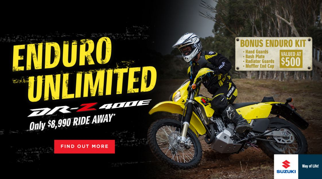 SUZUKI - Enduro Unlimited