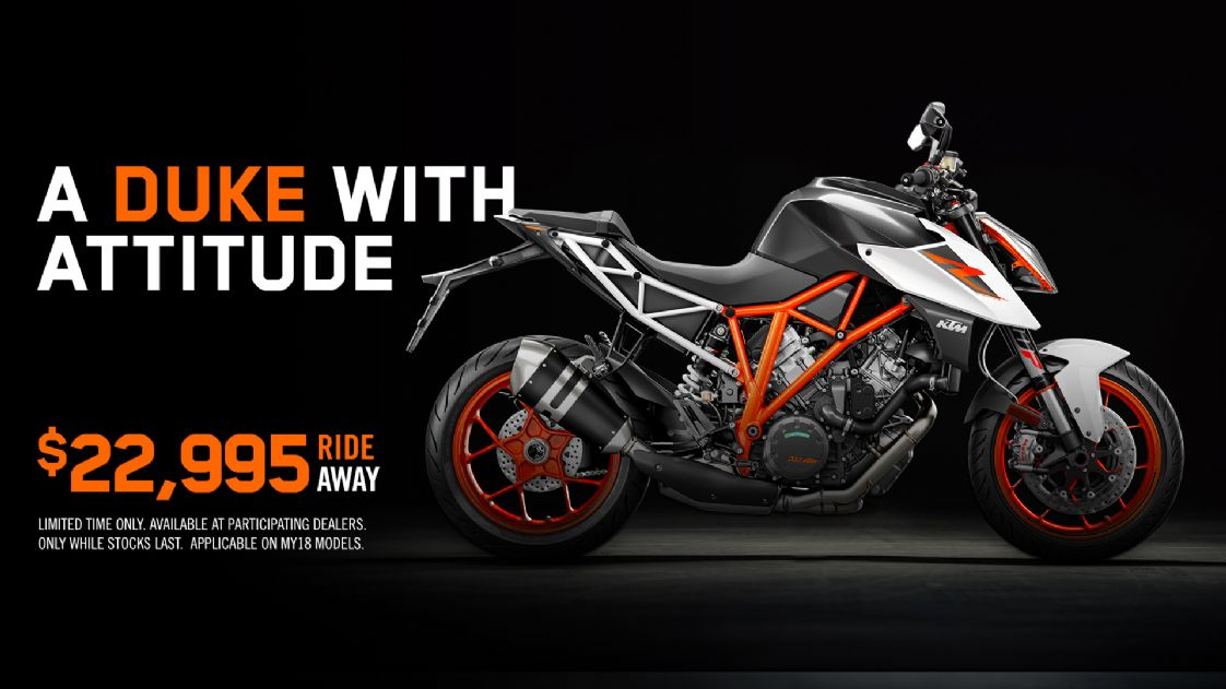 KTM - MY18 1290 Super Duke R