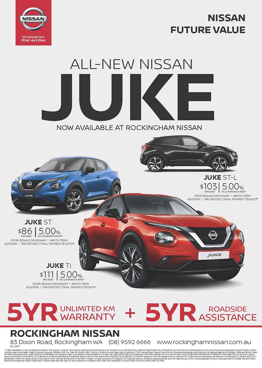 Nissan Juke Specials