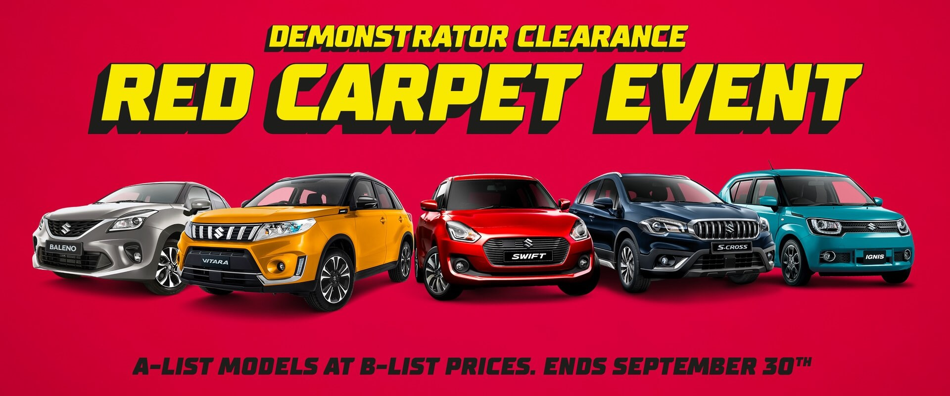 Suzuki Red Carpet Offer