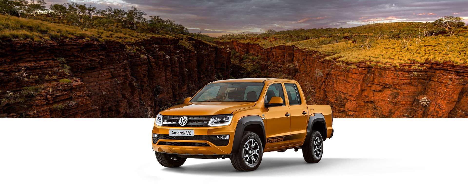 Volkswagen Amarok V6 Canyon