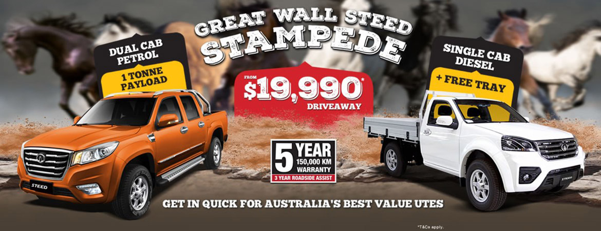 Great Wall - Steed Stampede