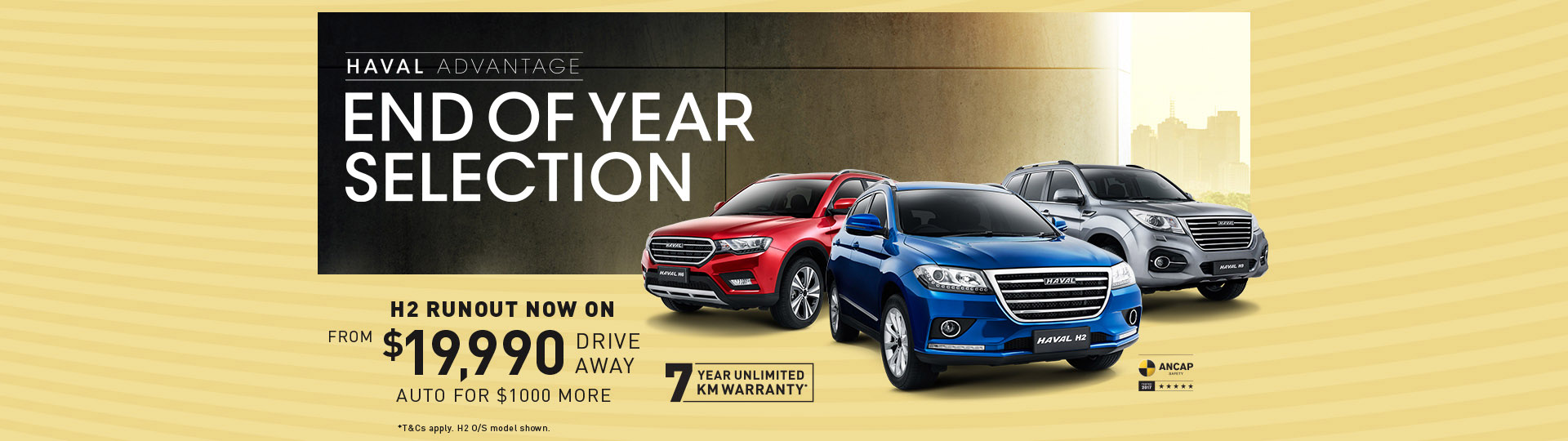 Haval - End of Year Selection
