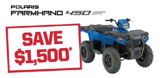 Polaris Farmhand 450