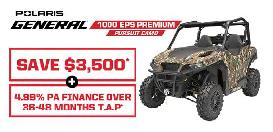 Polaris General 1000 EPS Premium Camo