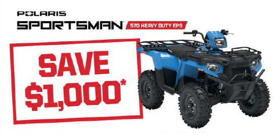 Polaris Sportsman 570 Heavy Duty