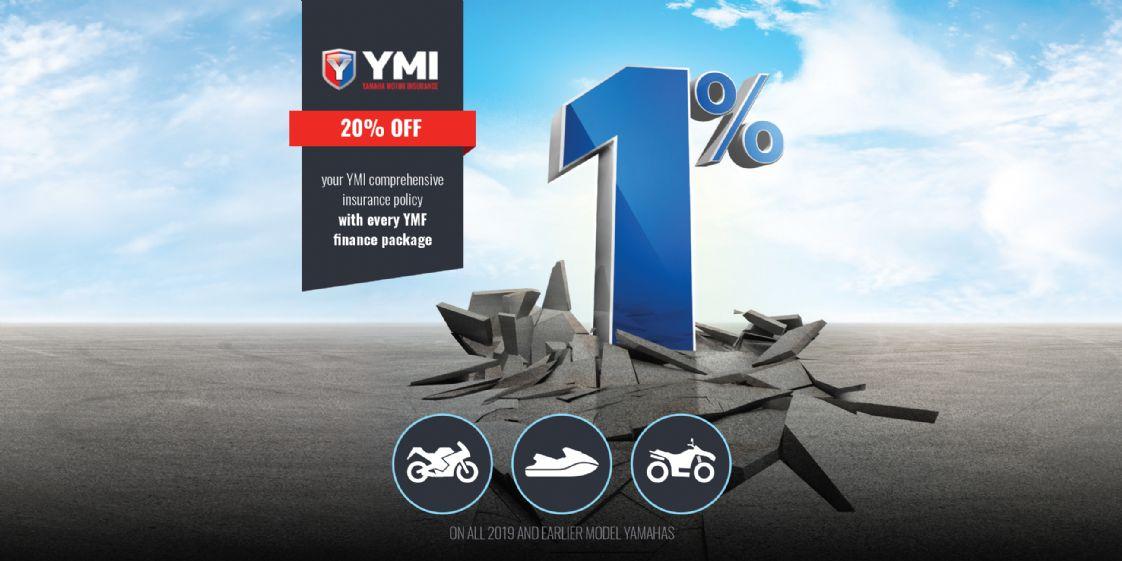 YAMAHA - 1% Finance All Bikes