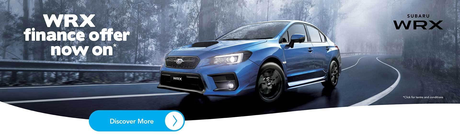 Subaru WRX Finance Offer