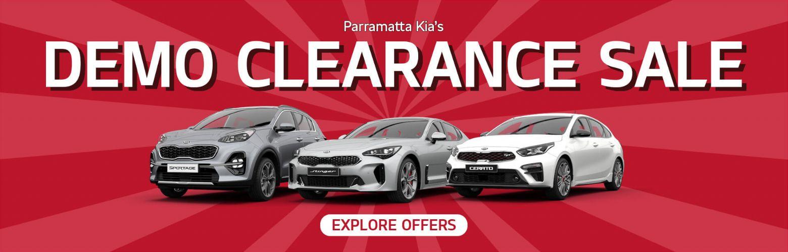 Parramatta Kia Demo Clearance