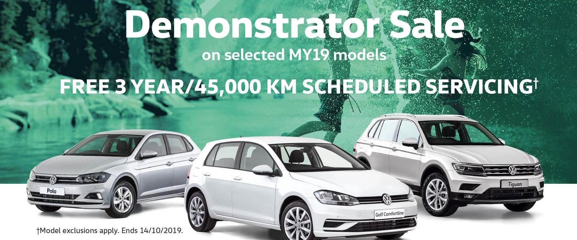 Volkswagen Demo Sale