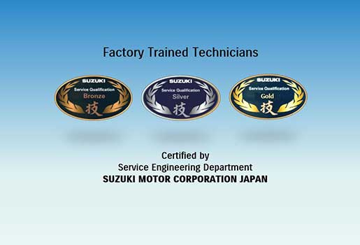 factory trained