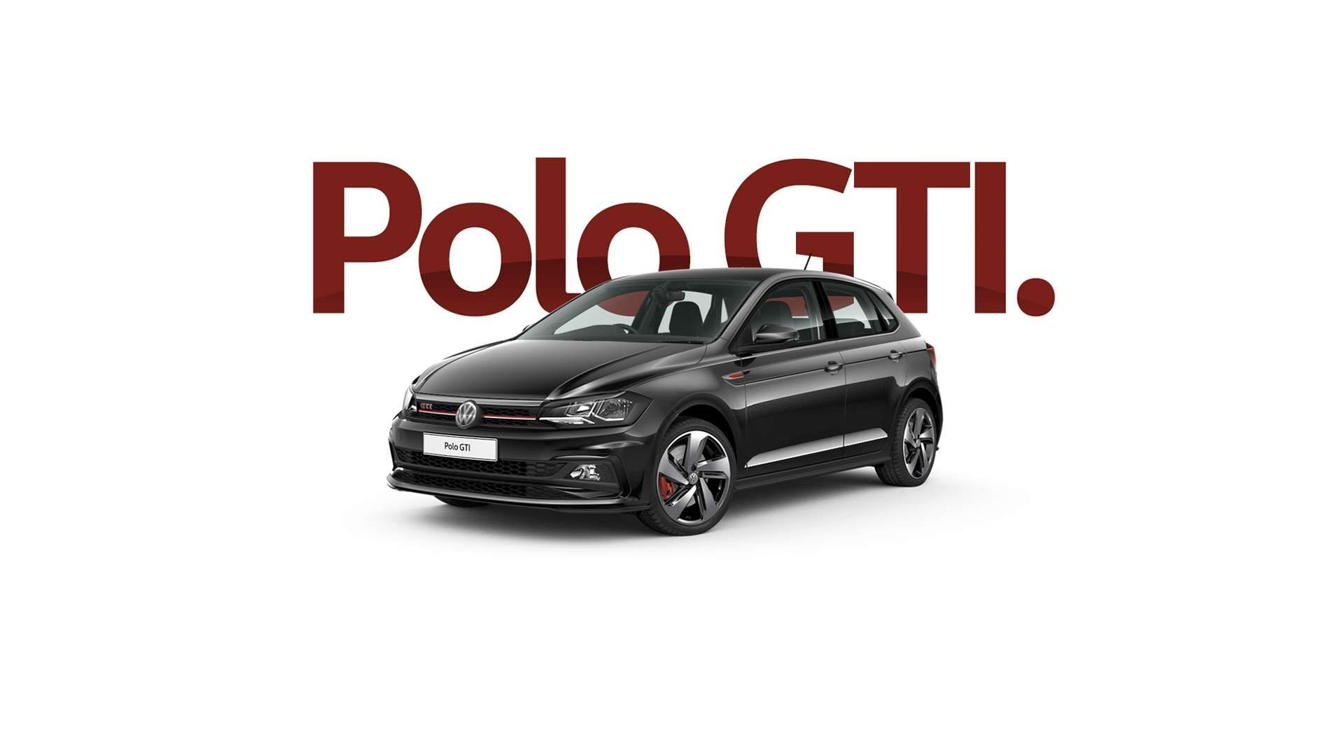 Deep Black Polo GTI