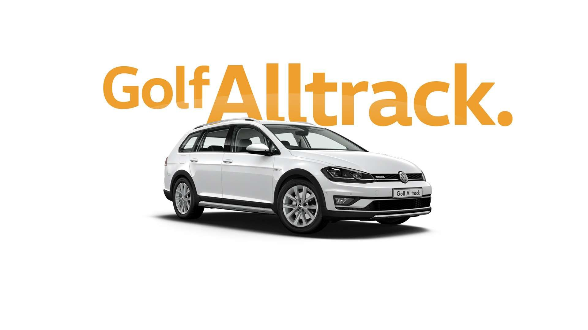 Pure White Golf Alltrack
