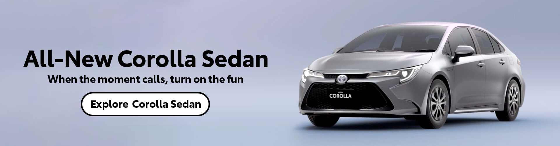 All-New Corolla Sedan