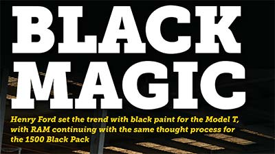 blog large image - Delivery Magazine – Black Pack Feature