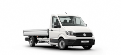 Crafter Cab Chassis - Single Cab Chassis With Tray