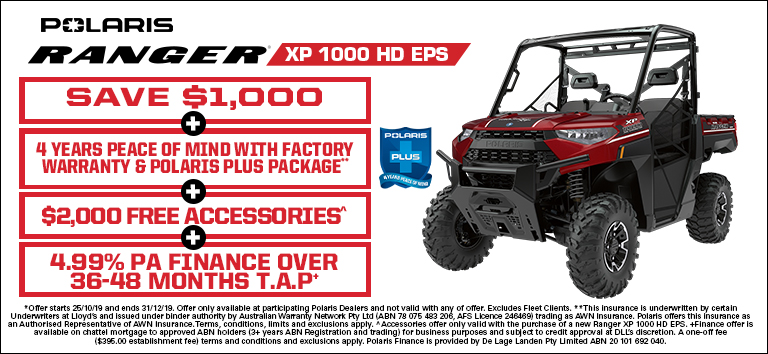 Ranger XP 1000 HD EPS