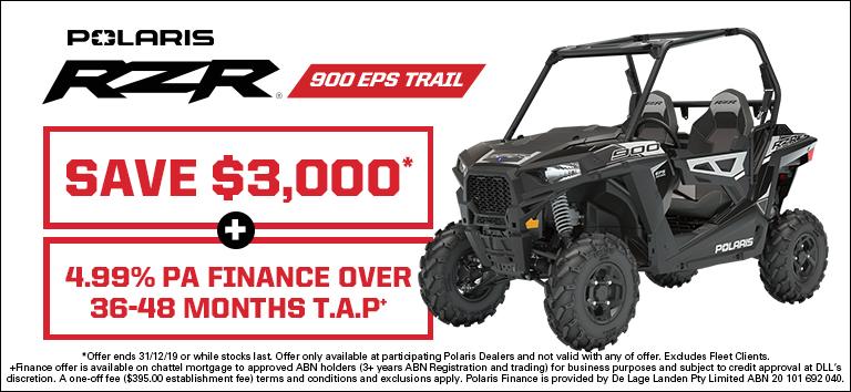 RZR 900 EPS Trail
