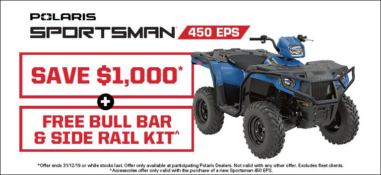 Sportsman 450 EPS