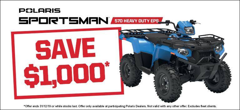 Sportsman 570 Heavy Duty EPS