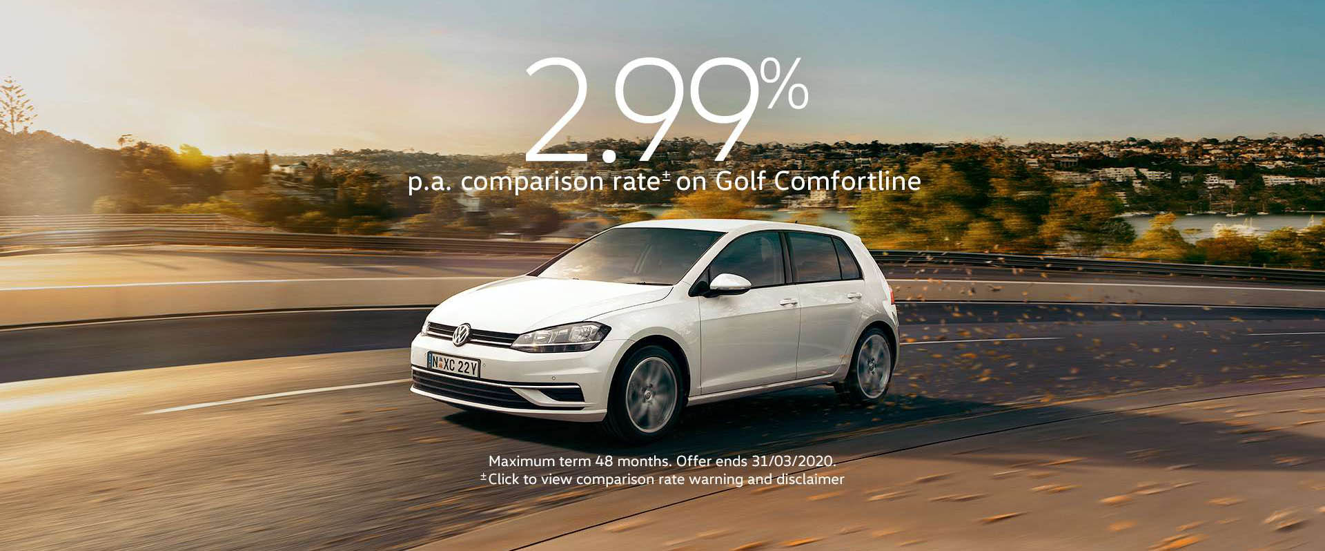 Golf and Tiguan Trendline Offer