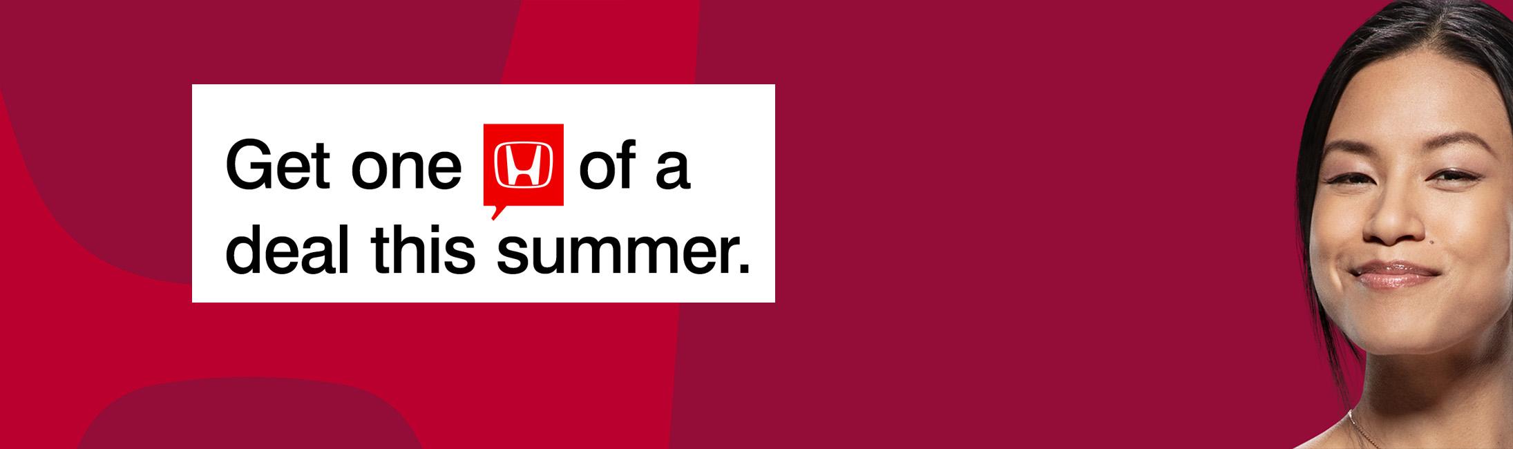Honda Deals This Summer