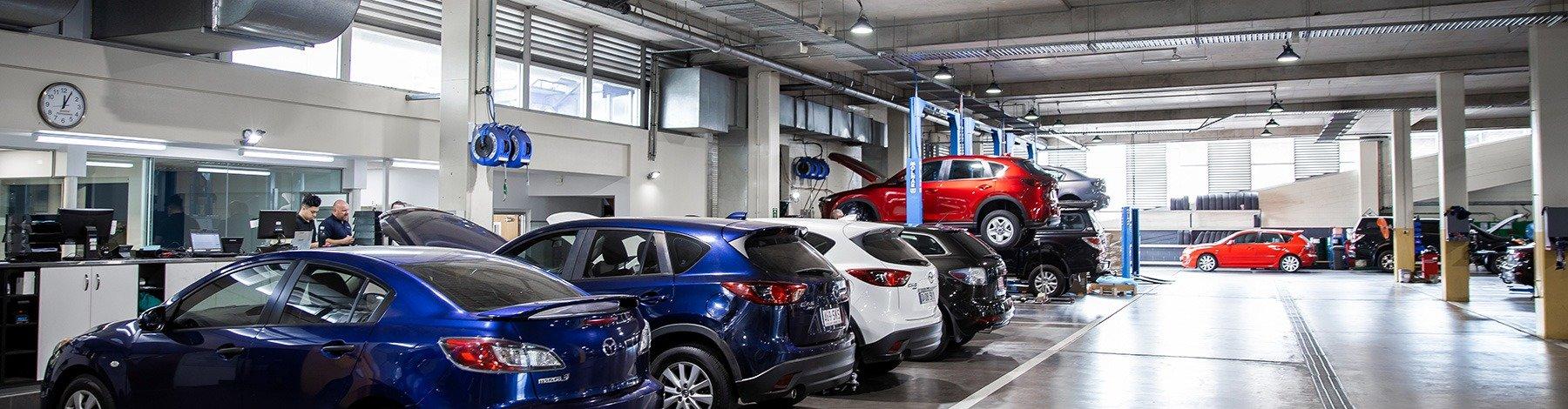 Grand Prix Mazda - Service Centre