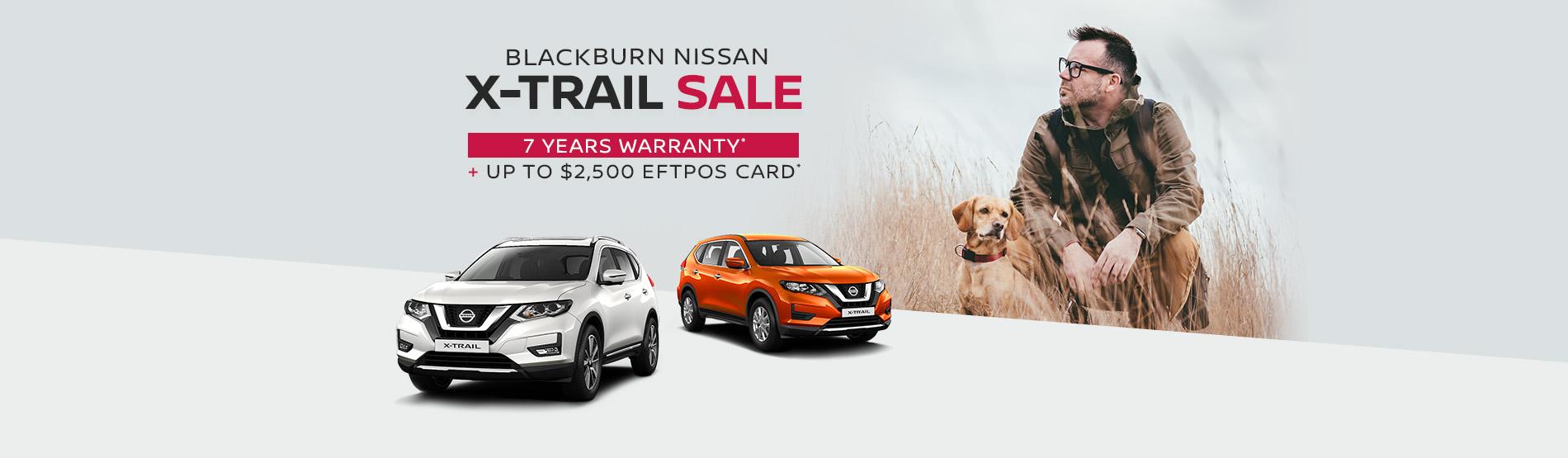 Blackburn Nissan - X-Trail Sale